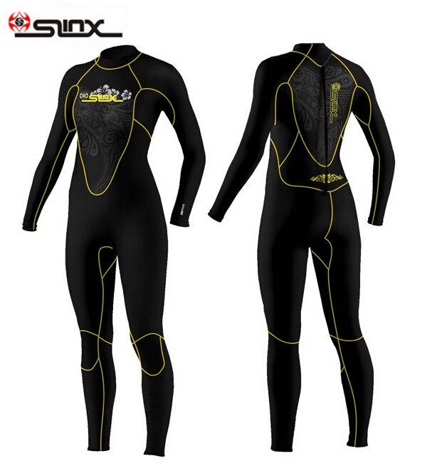 SLINX DISCOVER 1107 5mm Neoprene Swimming,Surfing Wet Suit Swimsuit Equipment Jumpsuit Full Bodysuit