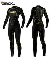 SLINX DISCOVER 1107 5mm Neoprene Neoprene Swimming,Surfing Wet Suit Swimsuit Equipment Jumpsuit Full Bodysuit