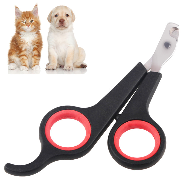 Small Pet Dog Rabbit Cat Nail Toe Claw Clippers File Scissors Trimmer Groomer Cutter Free Shipping