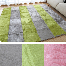 1pcs/set 30cm/piece Puzzle Mat EVA Foam shaggy velvet Carpet door mat Jigsaw Mat plush fabric Carpet Area Rug Room Floor Mats 4pcs soft warm puzzle mats baby crawling pad eva foam shaggy carpet door mat plush fabric sofa yoga carpet living room area rug
