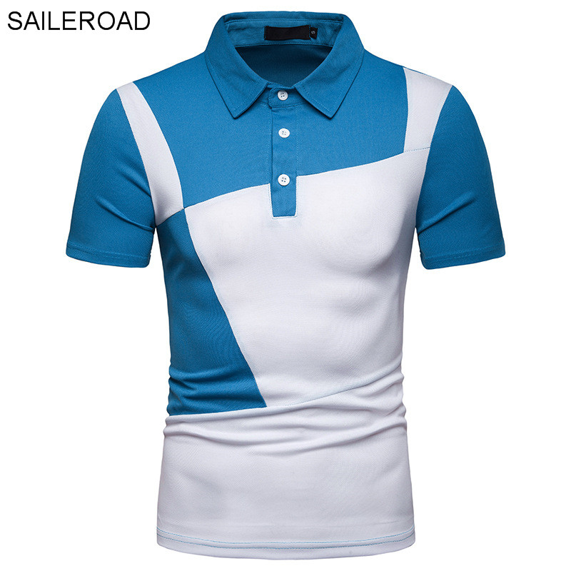 SAILEROAD Good Quality Brand Clothing Men   Polo   Shirt Cotton Short Sleeve Shirt Casual Male Tops   Polo   Shirt Man Summer Clothes