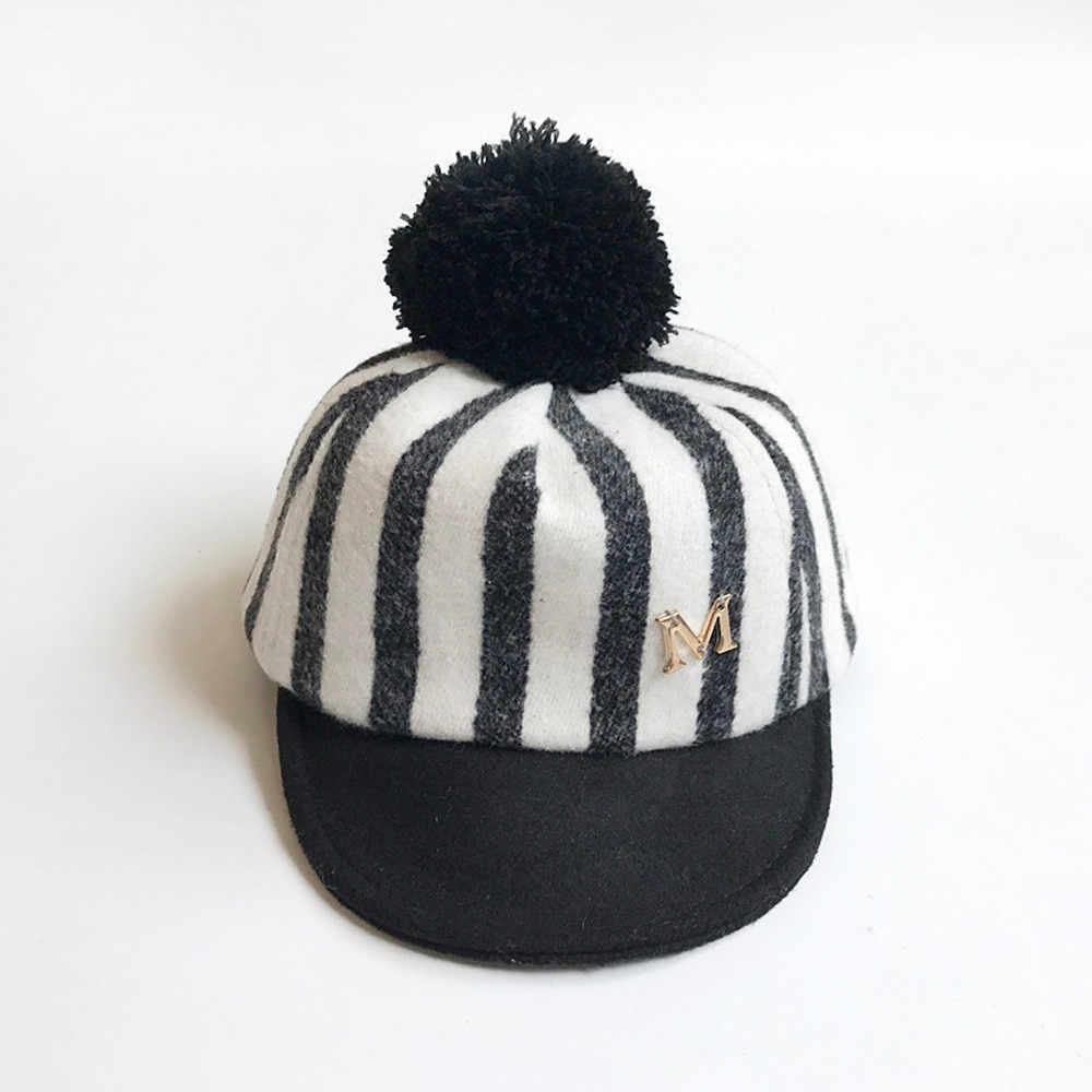 Gorros de bebé recién nacido invierno cálido sombreros de bebé gorro de bebé peludo niños sombrero niños niño niñas sombrero enfant hiver # W30