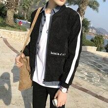 Весна 2017 мужская хан издание куртки высокого качества вышивка модный бренд бейсбол равномерное теплое пальто черный/серый одежда