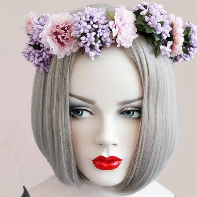 blume crown haarkranz stirnband mà dchen hawaii holiday liebe