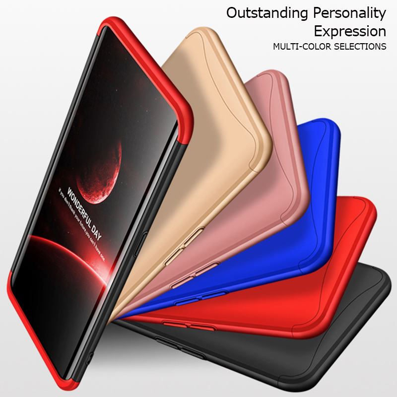 360 Full Degree Protection Case For OPPO AX7 A7 F11 Pro Cover Hrbrid Housings