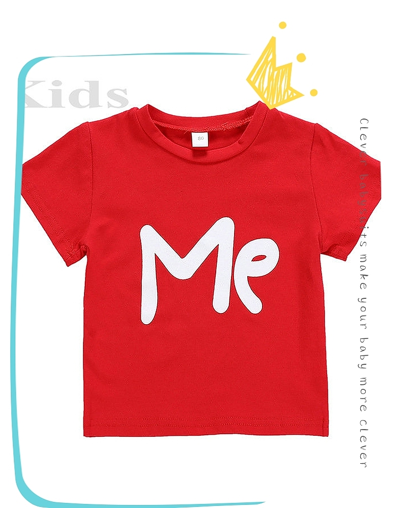 HTB1TH2NV3TqK1RjSZPhq6xfOFXaB - Family Matching Clothes Women Day Mother Daughter Baby Boy Kid Girls Father Son Short Sleeve Valentine Top Love Me T-shirt