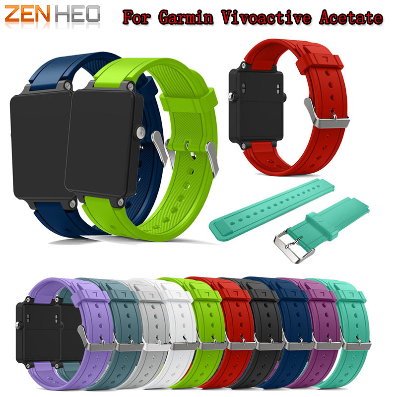 Strap-Band Bracelet Watch Acetate Garmin Vivoactive Replacement Correa for Reloj New