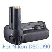 Новая Вертикальная Ручка-держатель Аккумуляторов Обновления Держатель для Nikon D80 D90 Камеры EN-EL3e Бесплатная Доставка Отслеживая Номер