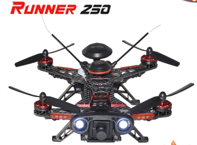 Runner 250 High Speed Racing drone with Brushless HD camera GPS FPV Remote control dron helicopter aircraft