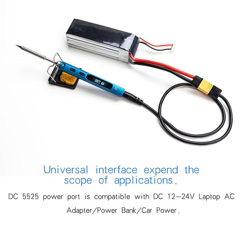Mini portátil 65W programable TS100 Soldador eléctrico LCD digital - Equipos de soldadura - foto 6