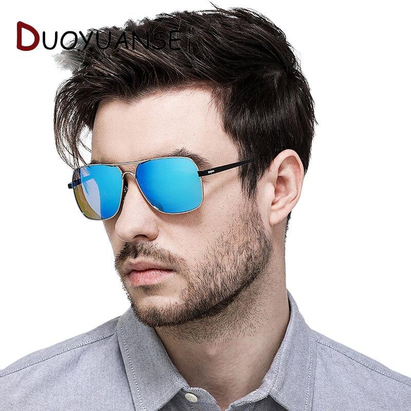 DUOYUANSE Fishing High quality Polarized Glasses Driver Driving Sunglases Man aluminium magnesium alloy Sun 2683