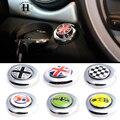 1 Conjunto Estilo Do Carro Começar Botão Adesivo de Proteção Auto Acessórios 6 Padrão Decorativo Decalque Universal Para BMW Mini Cooper