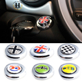 1 Unidades Car Styling Botón de Inicio Pegatina Protectora Accesorios de Automóviles 6 Patrón Decorativo Decal Universal Para BMW Mini Cooper