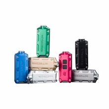 NITECORE metal USB rechargeable with battery key button light TIP outdoor daily Camping Hiking night riding fishing Travel light