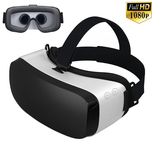 """Все-В-Одном 3D VR ОКНО Виртуальной Реальности 360 Градусов Захватывающий Android 5.1 Игры Видео Очки Quad-Core Wi-Fi Bluetooth 5.5 """"Экран"""