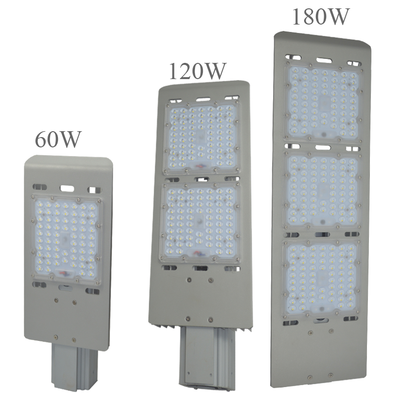 LED Street Lights 60w 120w 180w Road Highway Garden Park Street Light 85-265V IP65 Lamp Outdoor Lighting Fixture