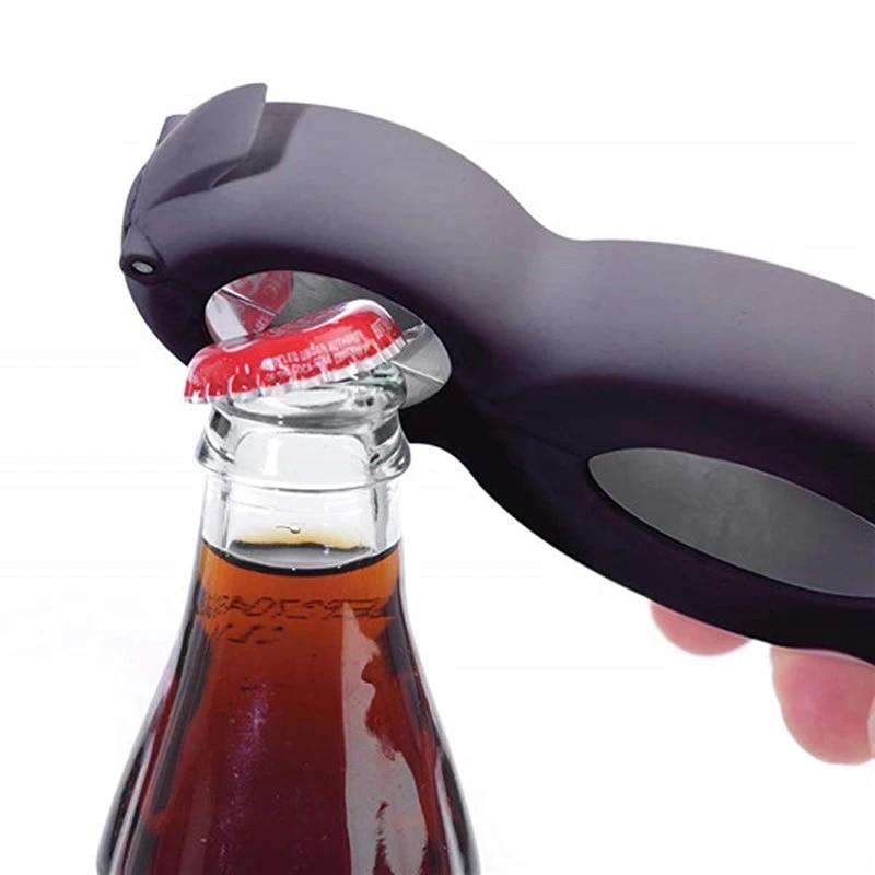 All in One Jar 8 shaped Gripper Can Wine Beer Lid Twist Off Jar Opener Claw  6 in 1 Multi Function Twist Bottle Opener 35|Openers| - AliExpress
