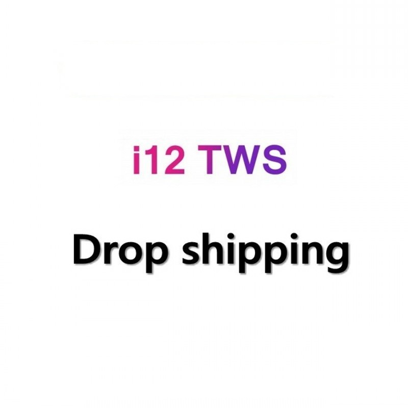 Juessen Drop shipping i12 TWS Bluetooth 5.0 Earphone 1:1 Double Calls Smart Touch
