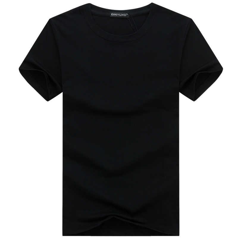 6 個 2019 シンプルな創造的なデザイン無地綿 Tシャツメンズ新到着スタイル半袖メンズ tシャツプラスサイズ