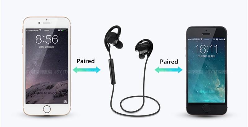 Bluetooth Sports Headphones headset  HD Stereo music headphone voice control  wireless Handsfree sweatproof earphone (6)