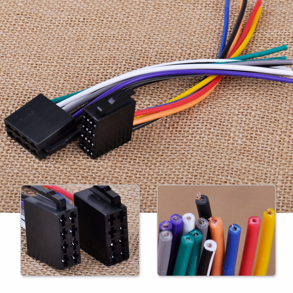 Citall Iso Radio Wire Harness Female Adapter Connector Cable For Car Yamaha Outboard Wiring Connectors Photo Show