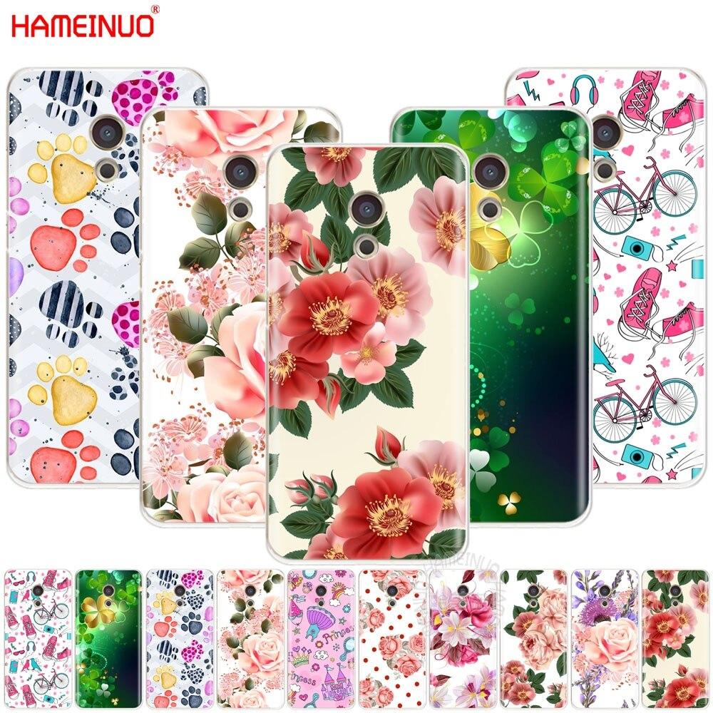 Hameinuo красивый цветок девушка листья покрывают телефон чехол для Meizu M6 M5 M5S M2 M3 M3S MX4 MX5 MX6 Pro 6 5 U10 U20 Примечание плюс