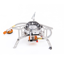 Wind Proof Outdoor Gas Burner Stove Hiking Camping Traveling  Stove Lighter Tourist Equipment Kitchen Cylinder Propane Grill gh539 gas lava roack grill of catering equipment