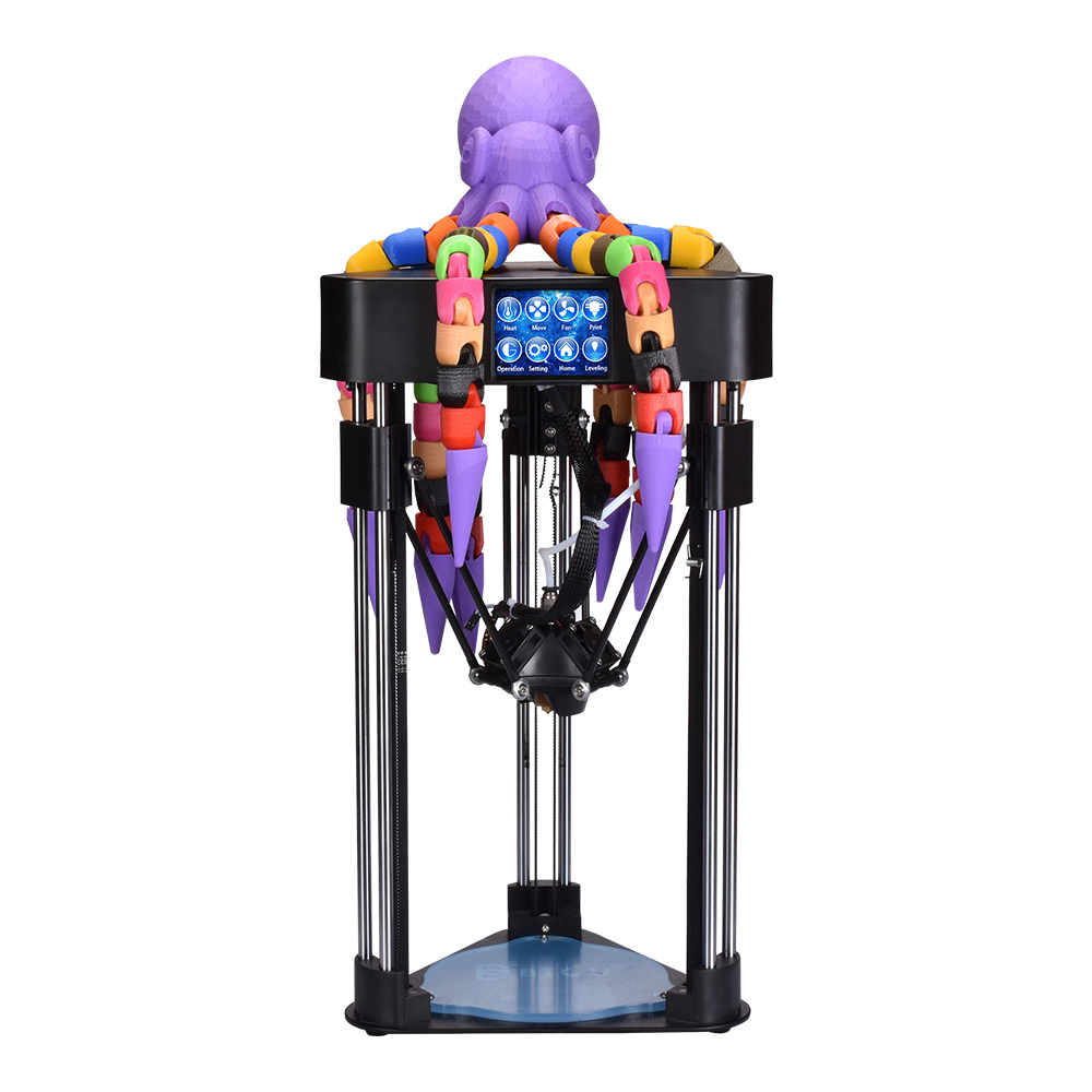 BIQU MAGICIAN MINI 3D Printer desktop High precision impressora 3D full assembly with HD Touch screen 3d printer for education