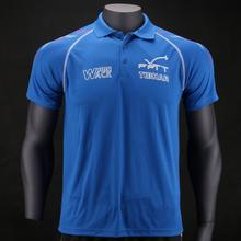 Oryginalny Tibhar Francja National Table tenis koszulki dla mężczyzn kobiet ping pong Odzież Sportswear koszulki tanie tanio Pasuje do rozmiaru Weź swój normalny rozmiar 01911B
