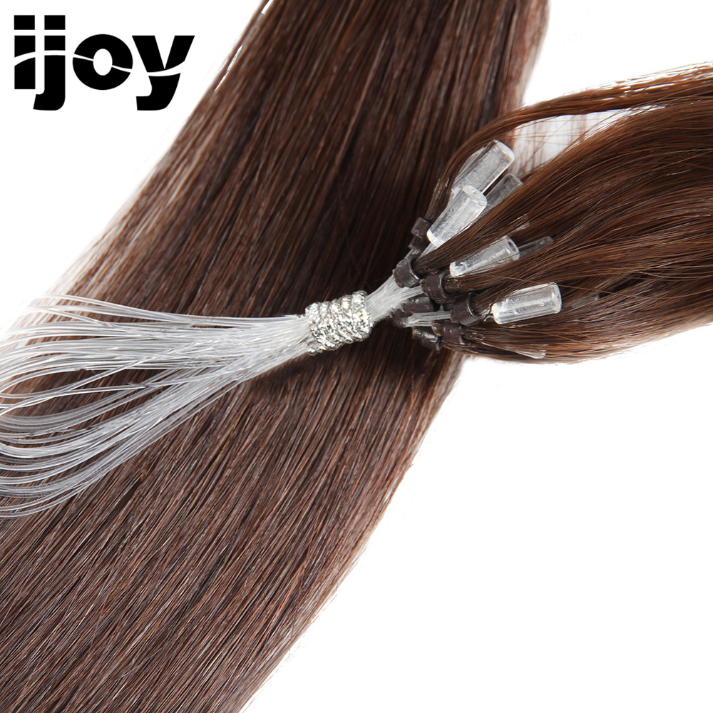 Aliexpress Buy Dark Brown Remy Brazilian Straight Tip Hair