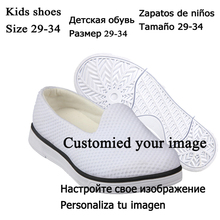 Wholesale Mesh Lazy Loafers for Men Father Girls to Boys Son Summer Vulcanize Shoes Teenager Slip On flat Shoes Size 29-34