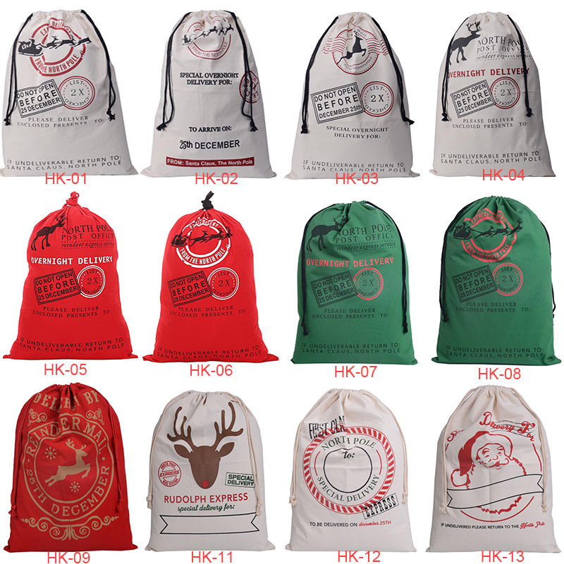 Canvas Santa Sack