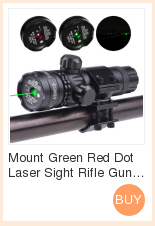 Red dot mira laser tático lanterna led