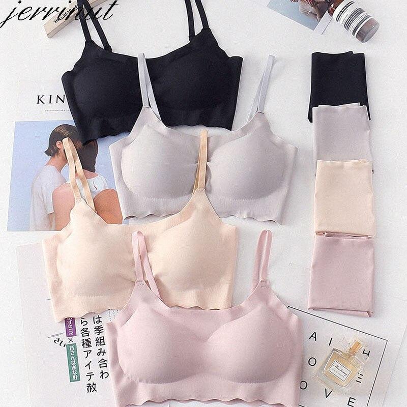 Jerrinut Sexy Push Up   Bra     Set   Seamless Women Underwear   Set   Everyday Sleep Wire Free Padded Lingerie   Bra   And Panty   Set