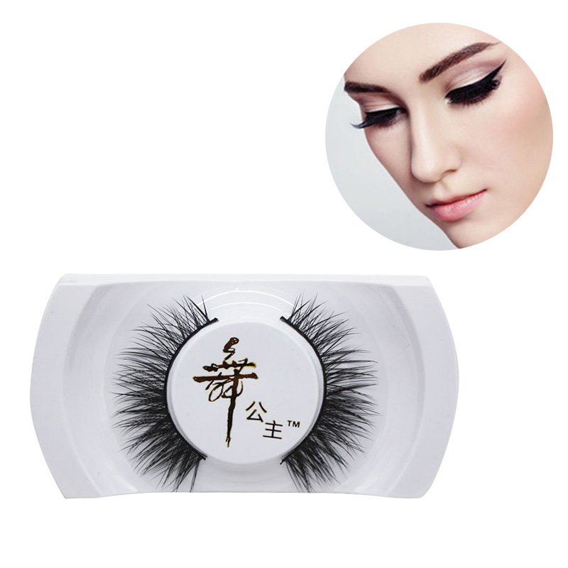 Makeup False Eyelashes Long Natural Thick 100% Black Real Mink Soft Eye Lashes Makeup Extension Tools Hot Sale
