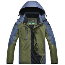 Spring Autumn Mens Women Jacket Outwear Army Waterproof Windbreaker Windproof Tourism Mountain Winter Jacket Plus Size