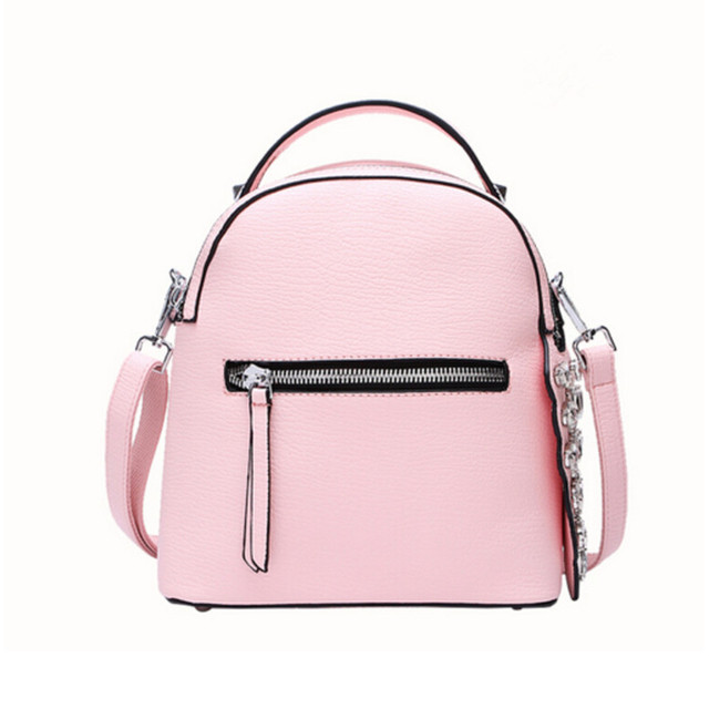 Aliexpress.com : Buy pink backpack korean fashion women leather ...