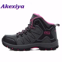 Akexiya Women Hiking Shoes Outdoor Climbing Zapatos Female Trekking Boots Sports Shoes Waterproof Sneakers Outventure