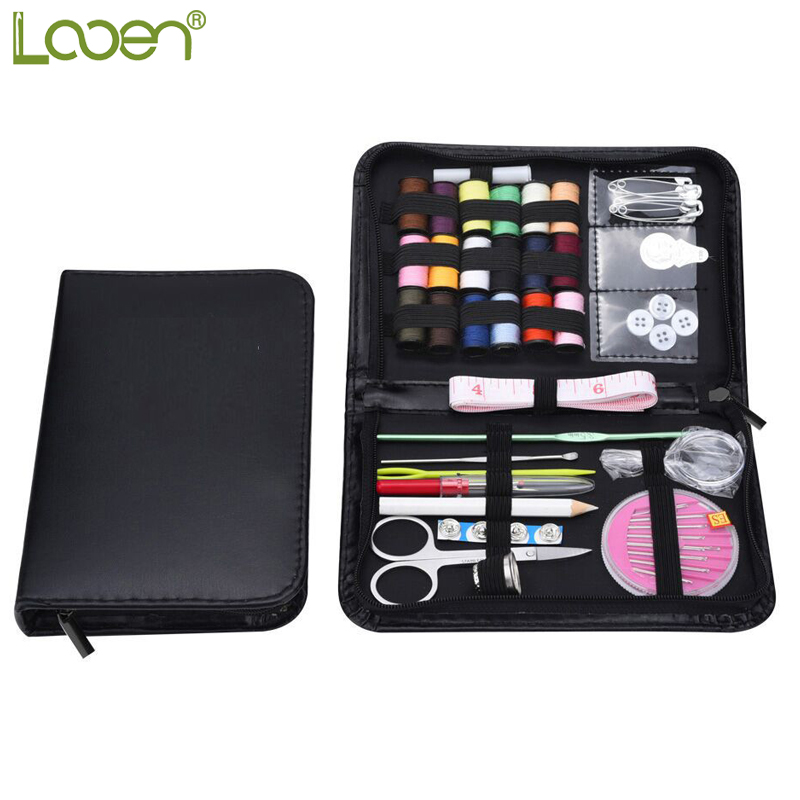 Looen Practical Sewing Tool Set Haaknaalden Threads Naalden Steken Breien Craft Case Reis Naaien Accessoires Voor Dames