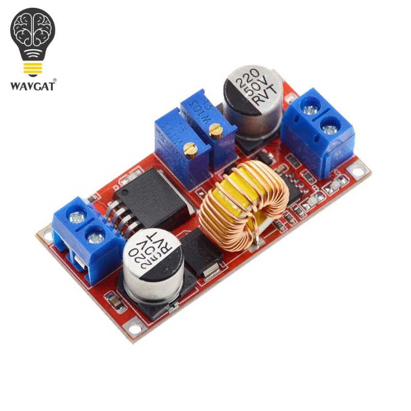 Image 2 - Original 5A DC to DC CC CV Lithium Battery Step down Charging Board Led Power Converter Lithium Charger Step Down Module XL4015-in Integrated Circuits from Electronic Components & Supplies
