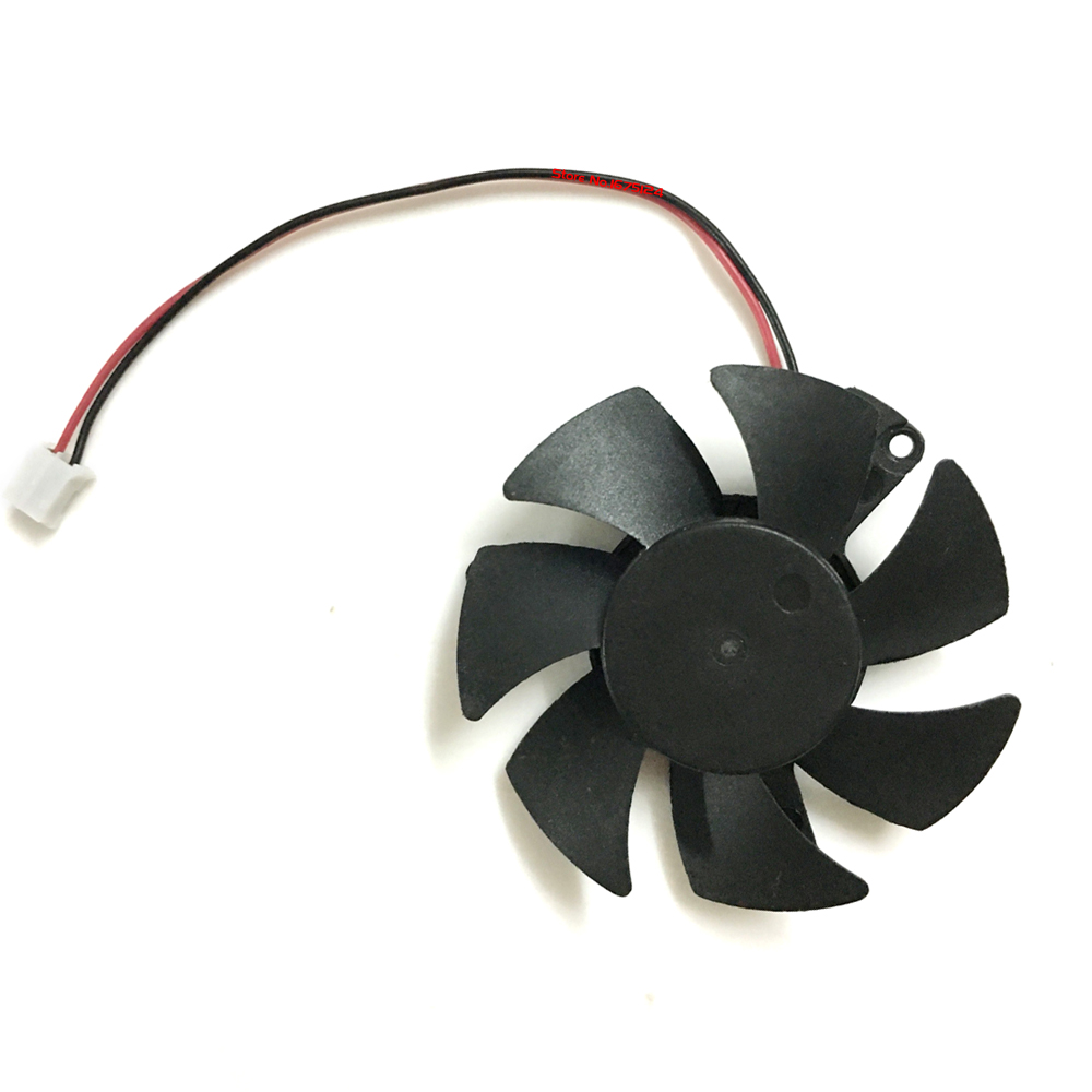 Repairist 45mm 0.1A GT 610 Gpu Cooler Video Card fan For kuroutoshikou GeForce GT610 Graphics Cooling System as replacement grahics card sapphire hd6570 ddr3 hd 6570 computer vga gpu cooler radiator cooling as replacement