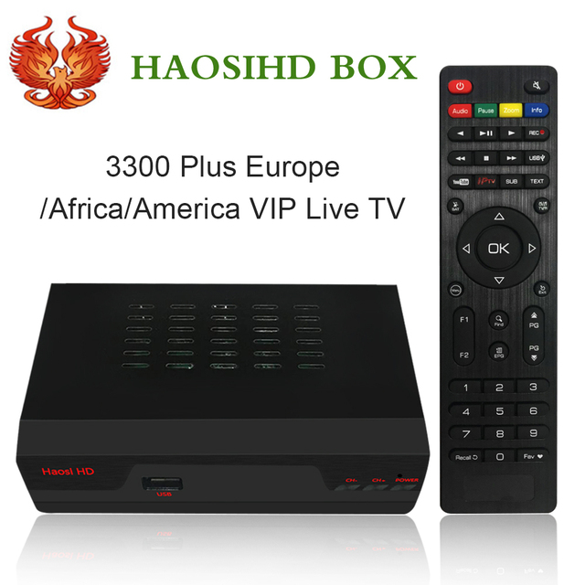 New/ Renew HAOSIHD R1 IPTV box receiver free 3300 channels europe Netherlands portugal belgium ireland live tv with VOD