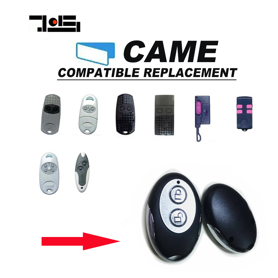 2pcs FOR CAME TOP432NA TOP432EE GARAGE DOOR REMOTE HIGH QUALITY