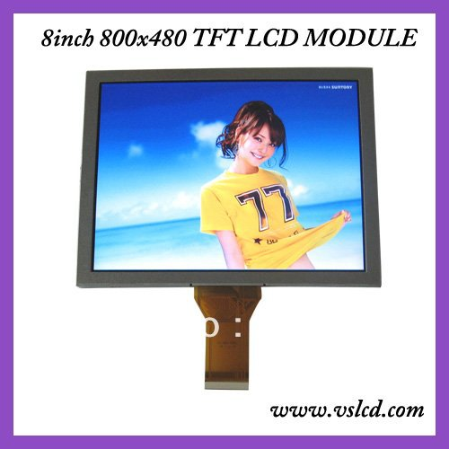 8inch tft lcd display LCM AT080TN52 800*600 resolution thickness 5mm 8 tft for Car DVD 7 inch fpc3 w70045a0 mid lcd 5mm thickness