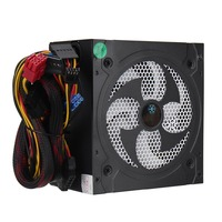 Desktop Power 500W Quiet Power Switching 12V ATX BTC Power Supply SATA 20PIN 4PIN Power Supply
