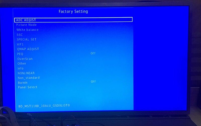 US $15 89 10% OFF|3663 New Digital Signal DVB C DVB T2 DVB T Universal LCD  TV Controller Driver Board UPGRADE 3463A Russian USB play LUA63A82-in