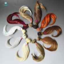 15cm*100cm doll Accessories wig Big bend wave roll for BJD/SD Doll DIY wig