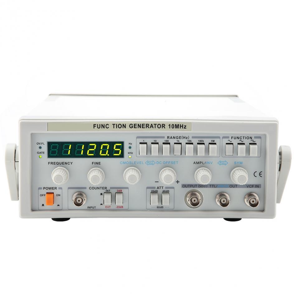 Vc-2002 digital function signal generator multimeter 0. 2hz-2mhz.