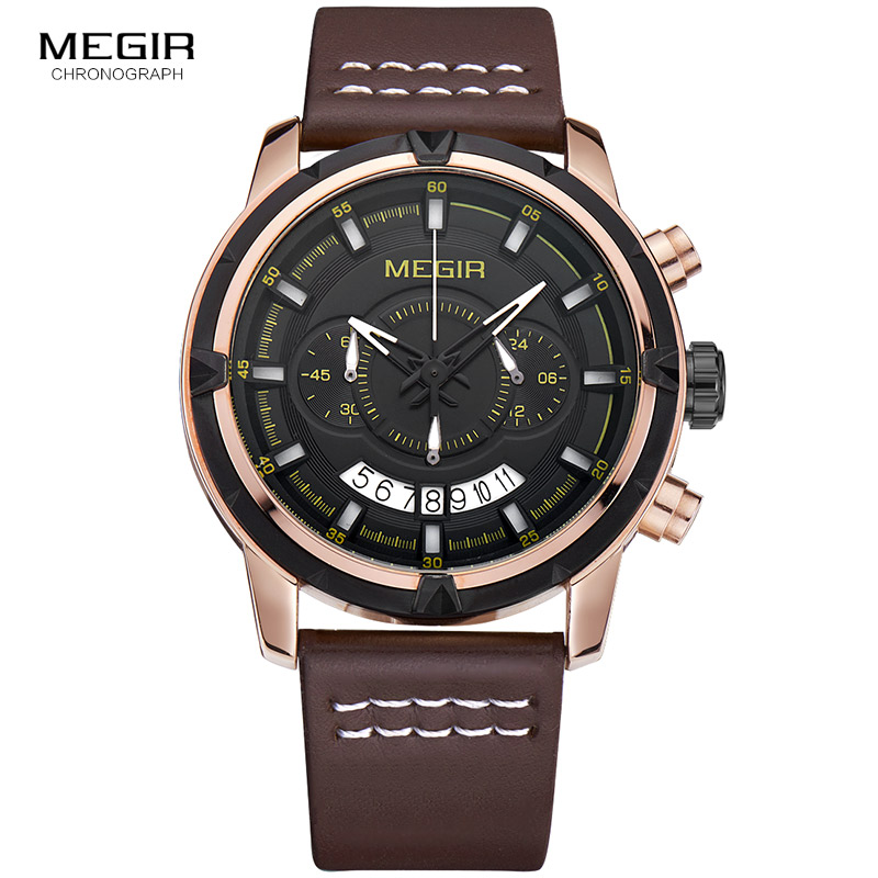 Last Watches Brown Leather