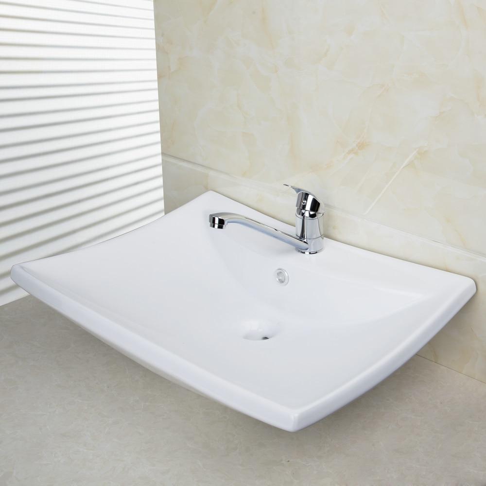 White vessel sink oval bathroom sink 100 picture blue for White ceramic bathroom bin